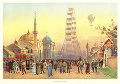 1893 Chicago, World Columbian Exhibition. Behind the scenes Chicago City, Chicago Tribune, Chicago Tours, World's Columbian Exposition, Chicago History Museum, Field Museum, My Kind Of Town, Just Dream, White City