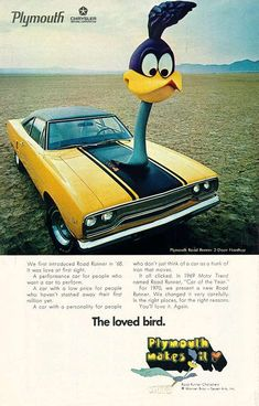 "not a car enthusiast but how can i gloss over the ""muscle cars"" of the late 60's and early 70's."