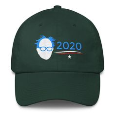 Bernie Sanders for President 2020 Embroidery Embroidered Cotton Cap Hat