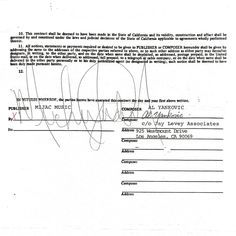 "Just found the contract with my signature next to Michael Jackson's indicating that we're the co-writers of ""Eat It."""
