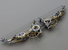 Steampunk Bow and Arrows - omg I love that it's recurve too and not compound *___*
