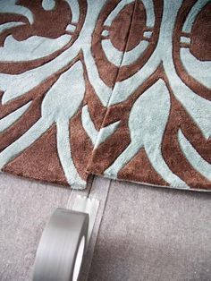 How to Make One Large Custom Area Rug from Several Small Ones | Easy Crafts and Homemade Decorating & Gift Ideas | HGTV