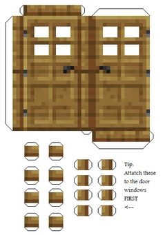 Minecraft Crafts, Papercraft Minecraft Skin, Minecraft Templates, Minecraft Blocks, Minecraft Construction, Minecraft Blueprints, Minecraft Designs, Hama Beads Minecraft, Minecraft Skins