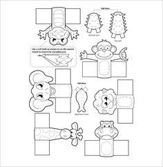 Jungle Animals Finger Puppet Template Format Monkey Five Little Monkeys Puppets Printable Hippo Crafts, Zoo Crafts, Puppet Crafts, Animal Crafts For Kids, Wild Animal Wallpaper, Monkey Puppet, Finger Puppet Patterns, Five Little Monkeys, Puppets For Kids