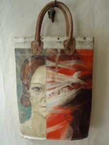 Beautiful Painting Carry Bags by Leslie Oschmann for Swarm.