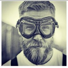 Masked Rider Hipster Bearded