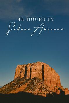 What to do when you've got 48 hours in Sedona, Arizona. Where to eat, where to stay, what to do, where to hike in Sedona, Arizona.