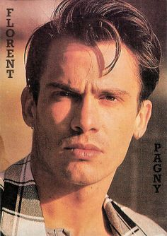 Florent Pagny. French postcard.