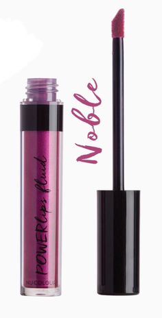 Noble is a royal purple shimmer. Our revolutionary Powerlips contain Sueded Comfort Cushion, a high-performance, weightless formula that lasts up to eight hours without reapplying. The no-alcohol, non-drying formula leaves a soft, finish. Beauty Box, Diy Beauty, Makeup Inspo, Makeup Tips, Long Lasting Lipstick, Purple Love, Makeup Obsession, Soft Lips, Lip Care