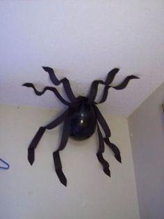 Fotos de decoração de Halloween com balões