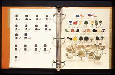 Herman Miller catalouge by Tomoko Miho