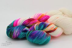 Stage Fright - Lady Persephone Sock - Bluefaced Leicester & Nylon