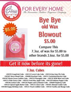 $5 wax, are you kidding me????  Check it out at http://JesK8.ForEveryHome.net