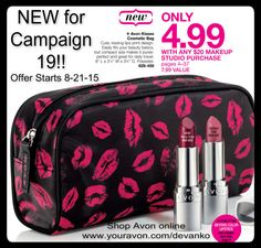 ARRIVING HERE 8-21-15!!! New for Campaign 19!! Shop Avon online www.youravon.com/stevietaylor