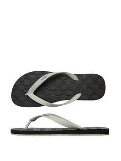 Gucci Two tone flip-flops