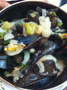UMMMMM  mussels in Brussel