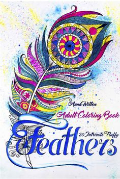 Feathers Coloring Book By Artist Anna Witton