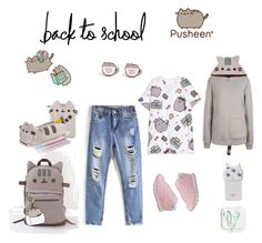 """""""#PVxPusheen"""" by jonienae on Polyvore featuring Pusheen, Reebok, Valfré, contestentry and PVxPusheen"""
