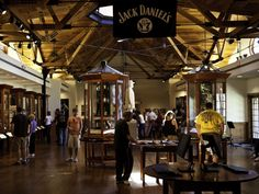 Follow the Tennessee Whiskey Trail, stopping at distilleries along the way to sample new bourbons and whiskeys.