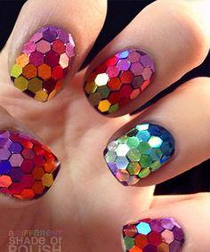 Cute Multicolor Nail Art Designs