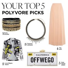 """""""Your Top 5 Polyvore Picks"""" by polyvore-editorial on Polyvore"""