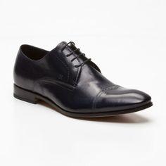 Leather Shoes in Dark Blue (EU_FABI1 1070071)