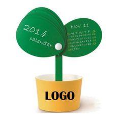 Creative Potted Plant Calendar