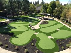 Project: Eskaton Village Green Drought Tolerant Landscape, Artificial Turf, Bay Area, Golf Courses, Patio, Green, Projects, Log Projects, Astroturf