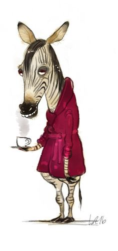 Good Morning Tuesday illustration by Wiebke Rauers Animal Sketches, Animal Drawings, Dutch Artists, Owl Art, Freundlich, Freelance Illustrator, Whimsical Art, Cute Illustration, Cute Art