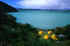 New Zealand of South America:  Torres Del Paine National Park in Southern Chile.  This takes camping to a whole new level!