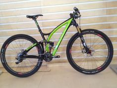 2013 Niner jet9 RDO 29er full suspension mountain bike with fox iCD electronic remote lockout