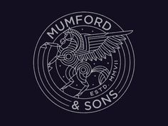 Mumford & Sons Pegasus by Brian Steely
