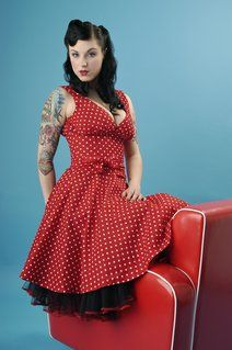 Rockabilly circle dress