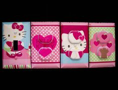 Hello Kitty Light Switch Cover and Outlet by cathyscraftycovers, $35.00