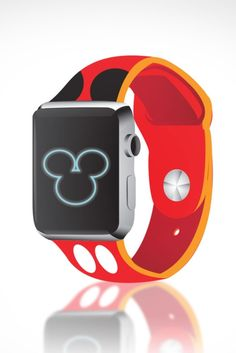 A Mickey Mouse -themed Apple Watch concept.