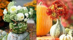 We love fall in New England! Play up the season with bold colors and flowers that reflect the beauty of nature around us.