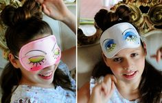 30 Ways to Make Your Own Homemade Sleep Mask • Cool Crafts