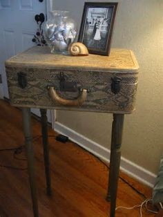 Suitcase Table!