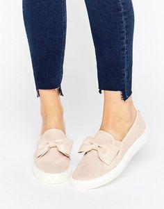 Faith | Faith Bow Slip On Sneakers
