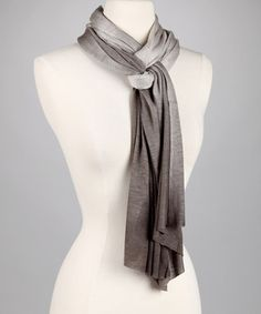 Cool way to tie a scarf, or you can do it thru one loop. Good look under a winter coat on camera, and keeps you warm. Brighter colors preferred.