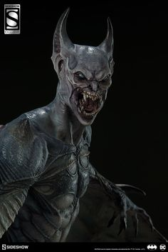 Sideshow Gotham City Nightmare Batman Statue - MightyMegaYou can find Gotham city and more on our website. Dark Creatures, Mythical Creatures Art, Creatures Of The Night, Fantasy Creatures, Fantasy Monster, Monster Art, Monster Vampire, Ronin Samurai, Les Aliens