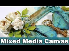 Step by step video on creating a mixed media canvas using 13@rts products. BLOG POST:http://goo.gl/l9A2m0 ——— S U P P L I E S ——— • 13arts products in USA ——...