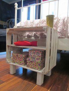 DIY Pallet Storage Racks | Pallet Furniture Plans