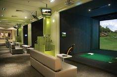 Full Swing Golf: Indoor Golf Simulator Technology Images