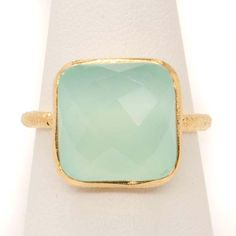 Chalcedony Ring - Size 7 $65.00    I just broke this ring.  I might have t o replace it now!