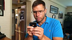 Dad Tries to Use an iPhone