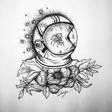 Resultado De Imagen Para Dibujos A Lapiz Del Espacio Dibujos A Lapiz Tumblr Dibujos Astronautas Dibujos
