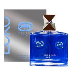 Ecko Blue by Marc Ecko, 3.4 Ounce by MARC JACOBS. $34.66. Recommended for casual wear. Classified as a refreshing fragrance. Launched in the year 2011. Marc Ecko Blue was launched in the spring of 2011. The fragrance is refreshing and modern, opening notes of citruses, plum and black currant. The heart of icy aquatic notes geranium, lavender, juniper berries and fresh herbs is placed on the base of oak moss, sandalwood and musk.