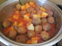 Boulettes  de  veau  au  jus  de  tomato   Gino D'Aquino