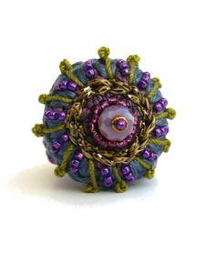 My New Shop On Etsy Crochet Rings In 2018 Pinterest Crochet